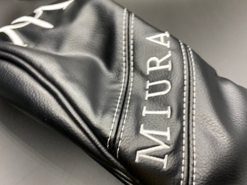 Miura Golf Fairway Cover Black - torque golf