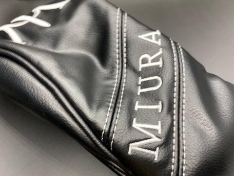 Miura Golf Headcover Fairway Black