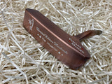 Yamada Golf Imperial Burnt Copper Sight Dot Handmade Putter Head Only - torque golf