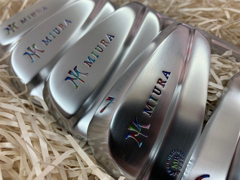 Miura Golf Irons MB-001 Chromatic Paint Fill