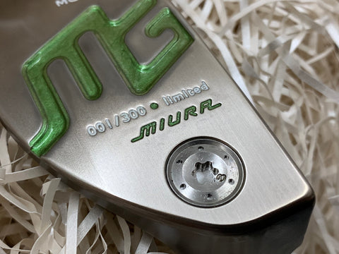 Miura Giken Putter MGP-M3 Limited Candy Apple Green - torque golf