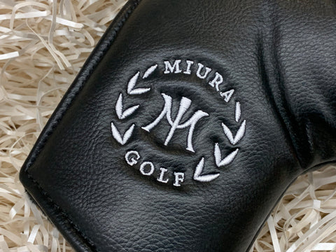 Miura Golf Putter Cover Large M in Black - torque golf