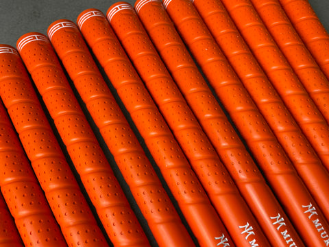Miura Golf Grip Iron Wrap Orange Set of 13