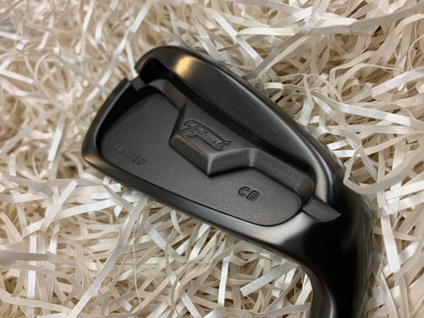Fujimoto Irons FT-1 CB Limited Black Boron 4 to P Set - torque golf