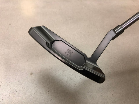 Miura KM-006LH Lefty Putter Full Black Edition - torque golf