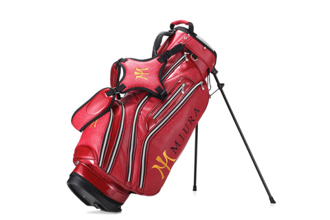 Miura Golf 2015 Red Honeycomb Bag