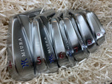 Miura Golf Irons 4 to P MB-001 Red White Blue Paint Fill - torque golf