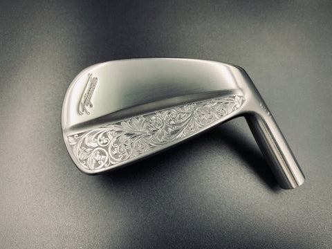 Fujimoto Golf Iron Handcrafted Hand Engraved Iura Irons