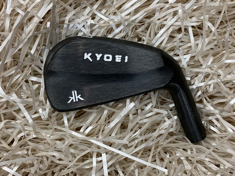 Kyoei Golf KK MB Irons  in Kurozome Black