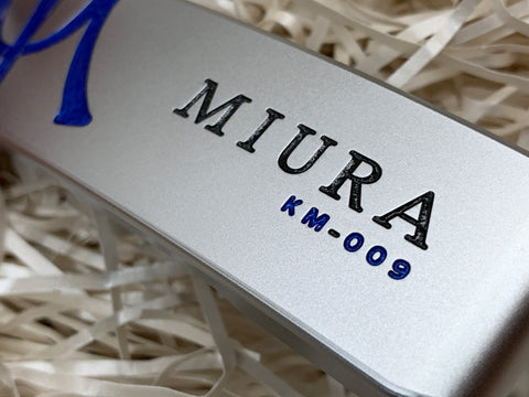 Miura Golf Putter KM-009 Special Blue - torque golf