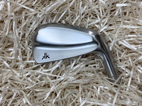 Kyoei Golf Prototype MB Irons in Brushed Satin