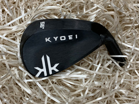 Kyoei Golf KK Wedge in Kurozome Black