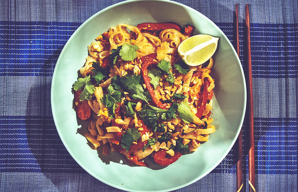 Pad Thai vegetariano Let´s cook