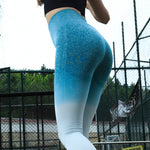 Inspiring Fitness Ombre Push Up Leggings