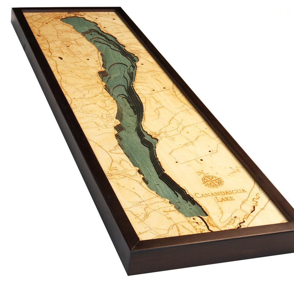 Canandaigua Lake Wood Chart