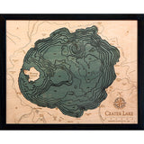 Crater Lake Wood Chart