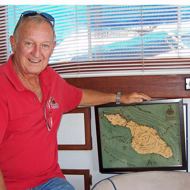 Catalina Island Wood Chart
