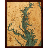 Chesapeake Bay Wood Chart