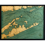 Long Island Sound Wood Chart