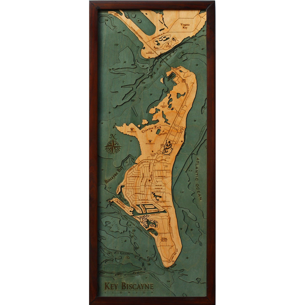 Key Biscayne Wood Chart