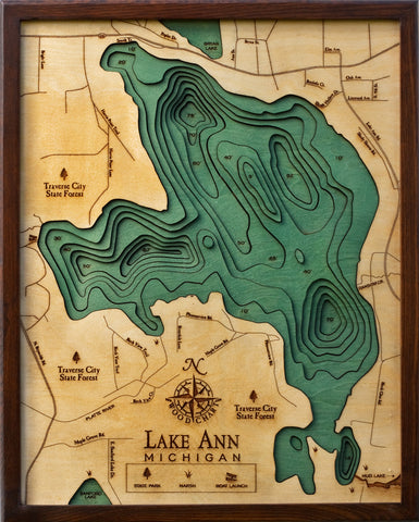 Lake Ann Wood Chart