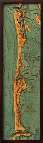 Longboat Key Wood Chart