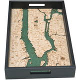 Manhattan Serving Tray Wood Chart