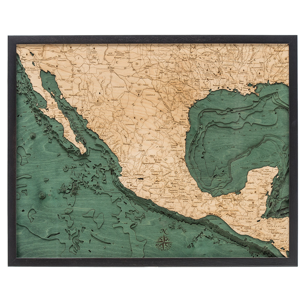Mexico Wood Chart