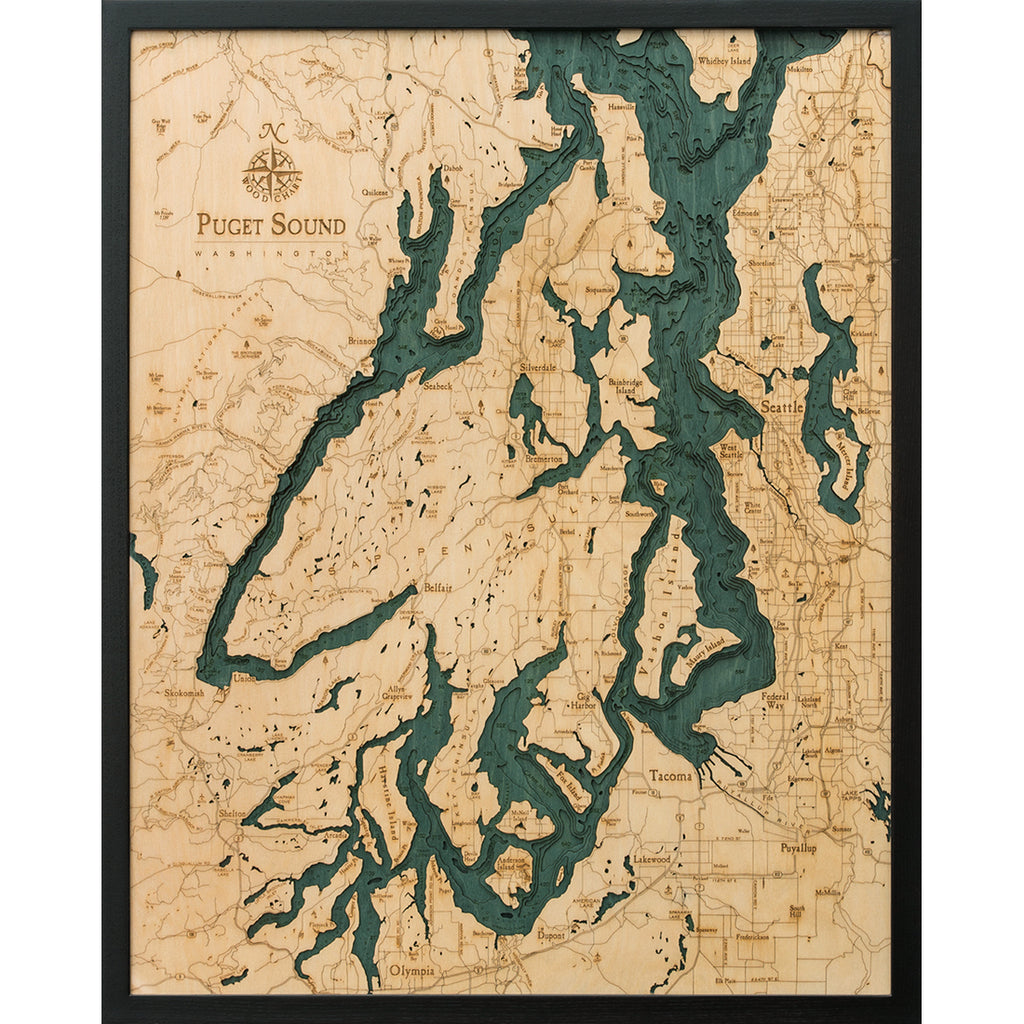 Puget Sound Wood Chart