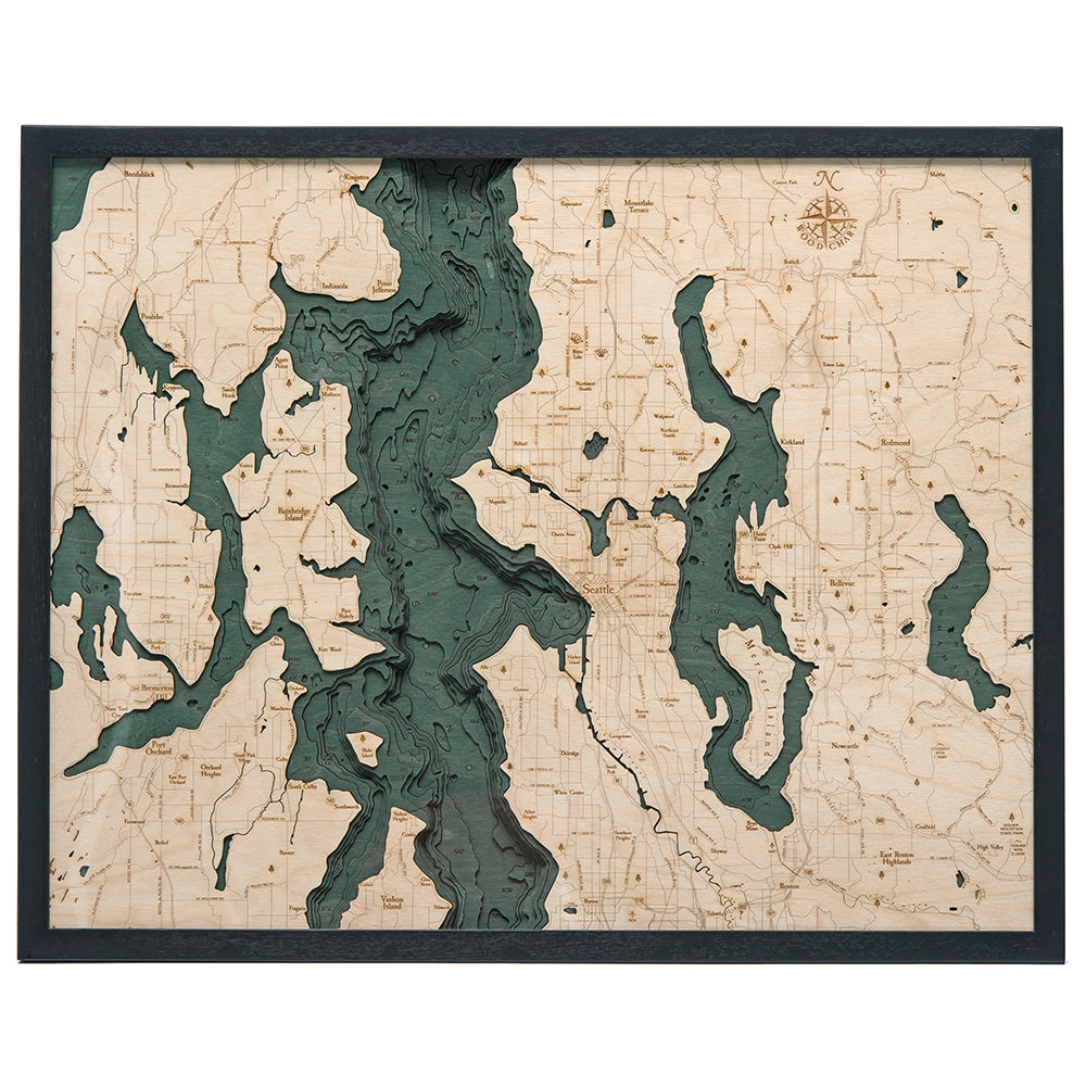 Seattle Wood Chart