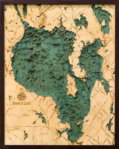 Sebago Lake Wood Chart