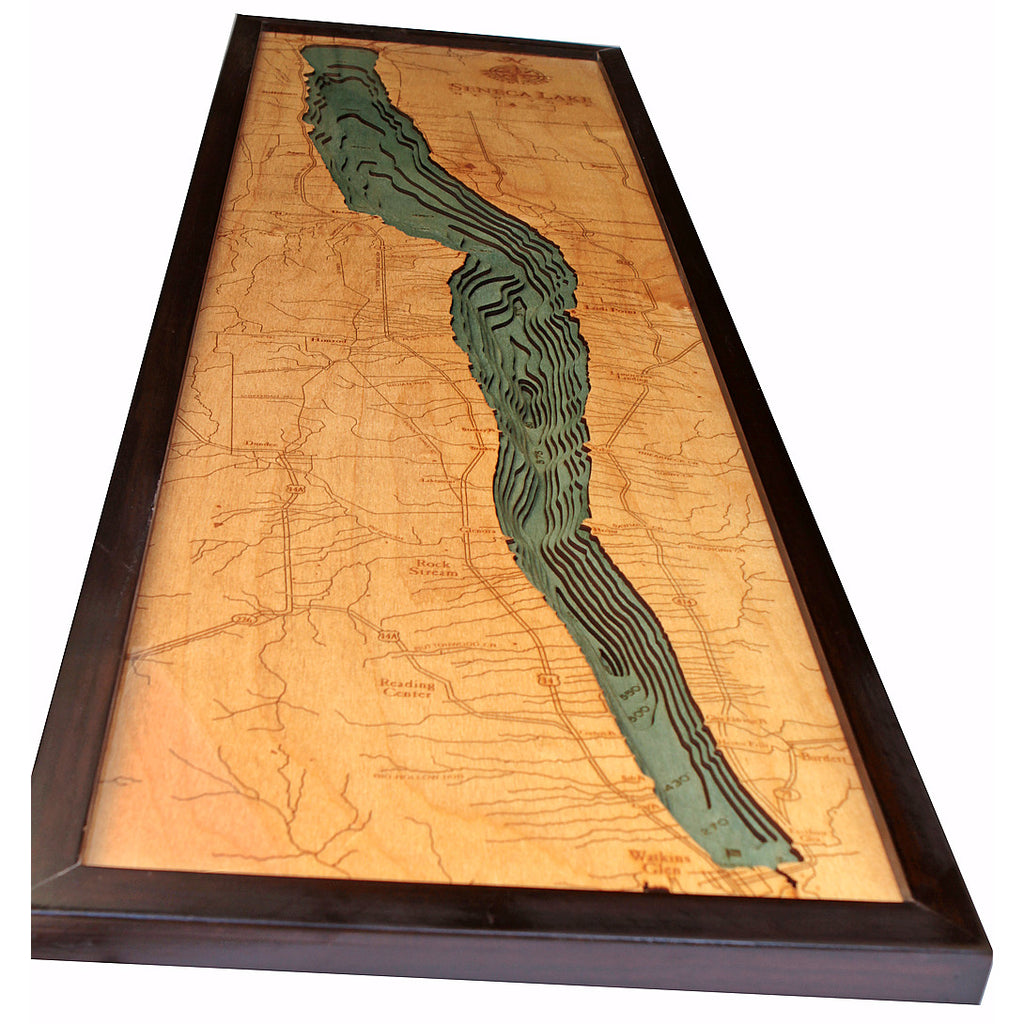 Seneca Lake Wood Chart