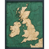 United Kingdom Wood Chart