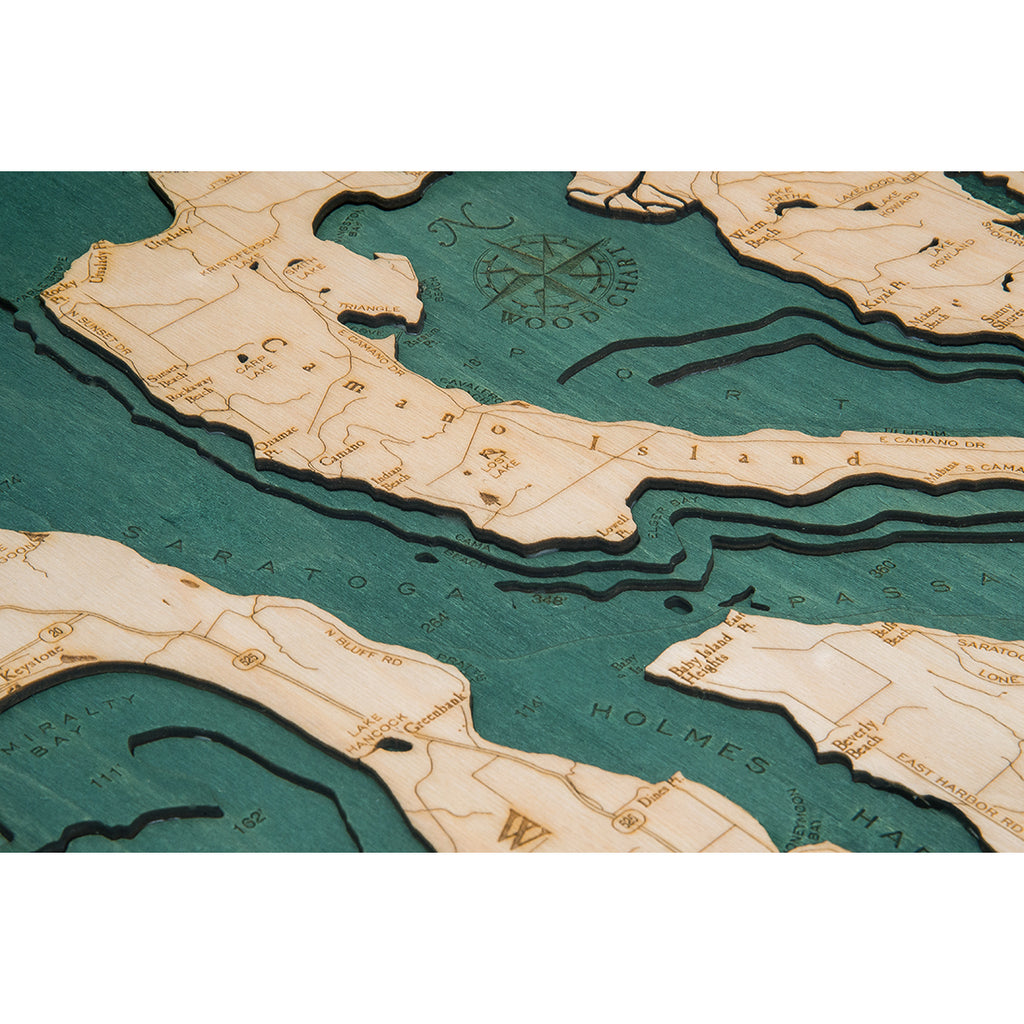 Whidbey and Camano Wood Chart