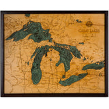 Great Lakes Wood Chart