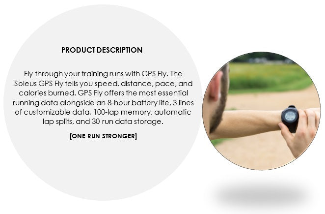 soleus gps fly product description