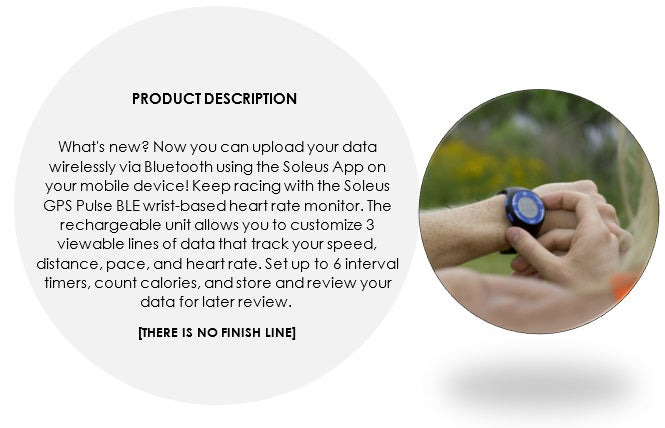 soleus gps pulse hrm product description