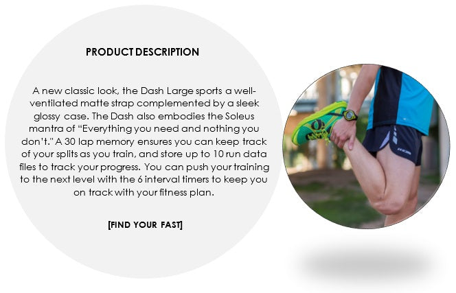 Men's Dash large Product description
