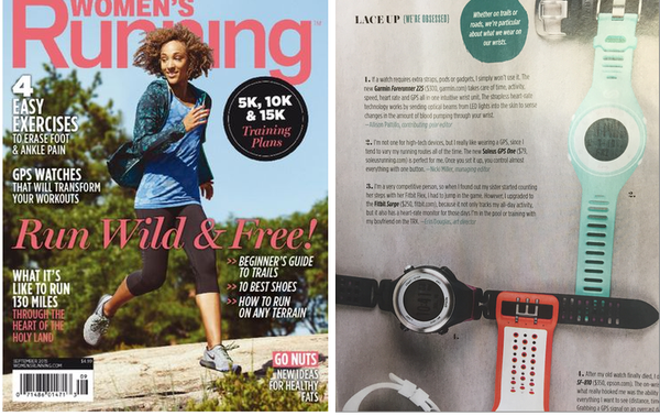 Women's Running September 2015