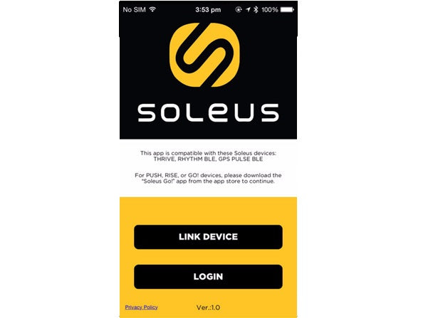 Soleus Thrive App