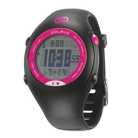 soleus women's gps mini hrm running digital sport watch