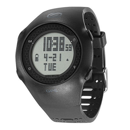 soleus black gps turbo digital running sport watch