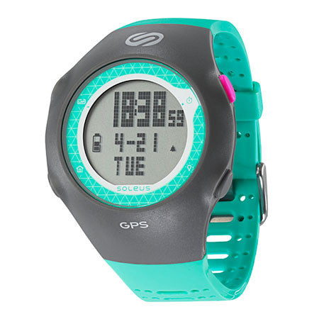 soleus women's gps turbo digital running sport watch