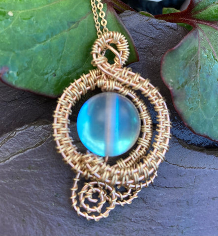 Gold Mirage Pendant