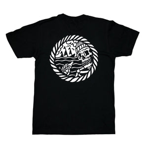 Sketchy Tank Sailor T-Shirt Black