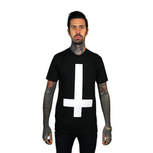 Load image into Gallery viewer, Cross T-Shirt Black