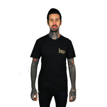 Load image into Gallery viewer, Raining Hope T-Shirt Black