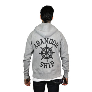 Classic Logo Pullover Hood Grey