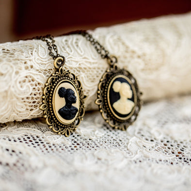 Black, Indigenous and People of Color Cameo Necklaces