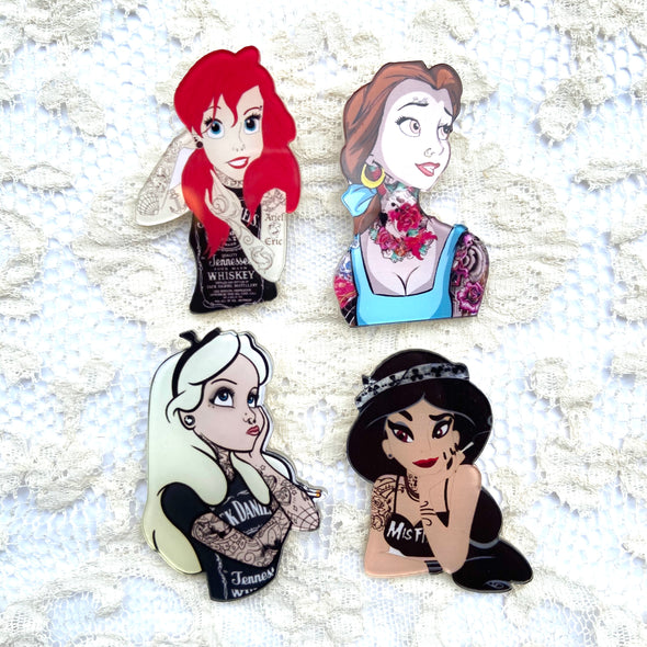 Punk Princess Pins